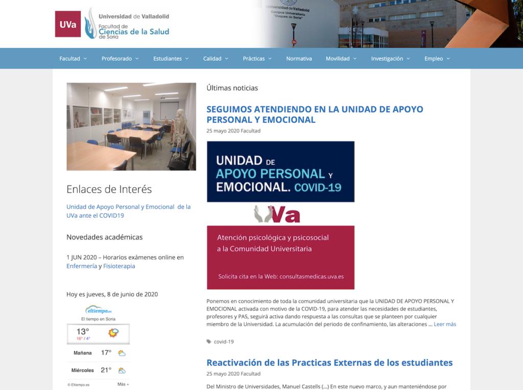 Facultad salud Soria